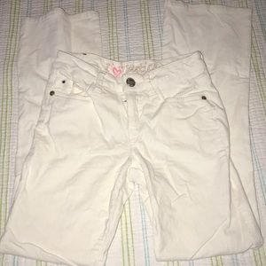 Justice White Pants 1555